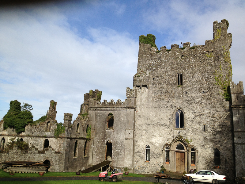 Leap Castle - home of the Bloody Chapel and the Elemental