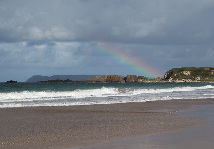 White Park Bay on the Antrim Coast – Where the Sand Sings