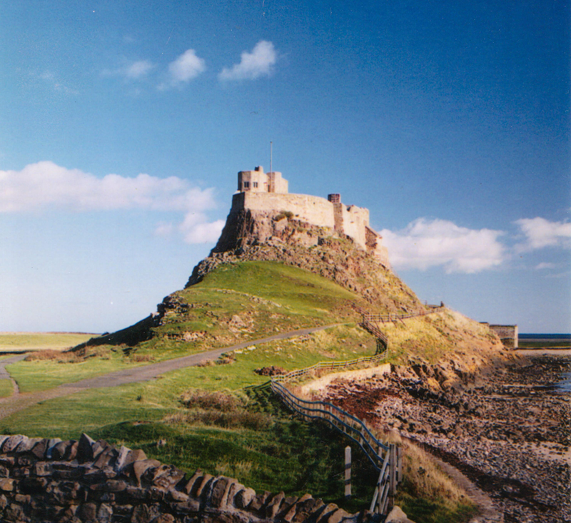 Lindisfarne Castle - Holy Island, Northumberland, UK