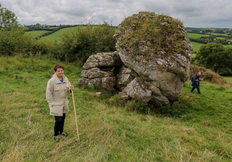 Walking Meditation at the Hill of Uisneach