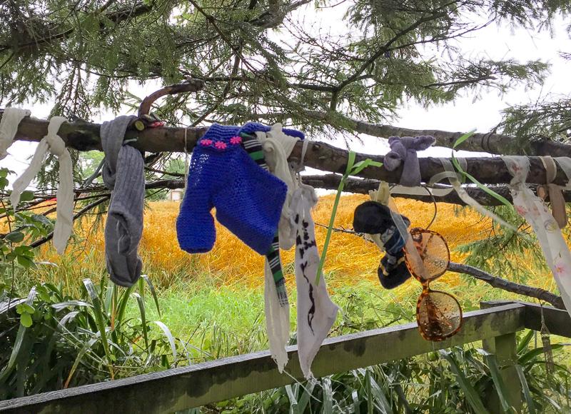 Clootie tree at Tobar Bride Kildare