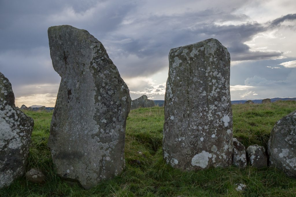 Beltany Stone Circle - County Donegal - Ireland