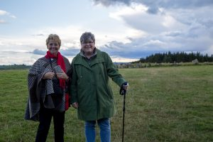 Guests on Thin Places Discover the North tour of Ireland at Beltany Stone Circle