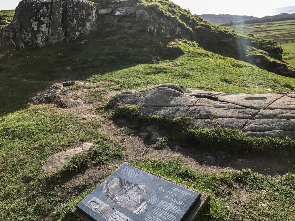 Dunadd Inauguration Stone