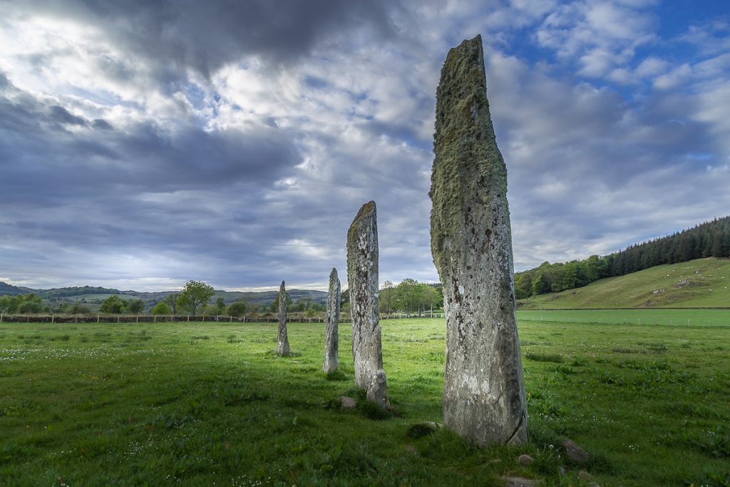 Standing Stones in the Kilmartin Valley