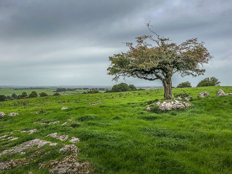 Hill of UIsneach - spiritual center of Ireland